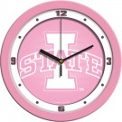 "Iowa State Cyclones 12"" Pink Wall Clock"