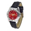 Iowa State Cyclones Sport AnoChrome Ladies Watch with Leather Band
