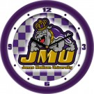"James Madison Dukes 12"" Dimension Wall Clock"