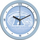 """Kent State Golden Flashes 12"""" Blue Wall Clock"""