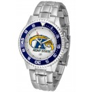 Kent State Golden Flashes Competitor Men's Watch with Steel Band