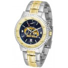 Kent State Golden Flashes Competitor AnoChrome Two Tone Watch