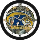 """Kent State Golden Flashes 12"""" Camo Wall Clock"""