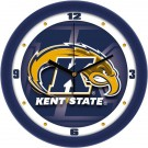 "Kent State Golden Flashes 12"" Dimension Wall Clock"