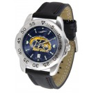Kent State Golden Flashes Sport AnoChrome Men's Watch with Leather Band
