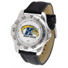 Kent State Golden Flashes Men's Sport Watch with Leather Band