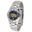 Kent State Golden Flashes Sport AnoChrome Ladies Watch with Steel Band
