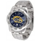 Kent State Golden Flashes Sport Steel Band Ano-Chrome Men's Watch