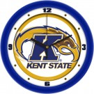 "Kent State Golden Flashes Traditional 12"" Wall Clock"