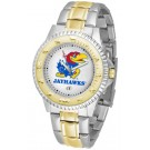Kansas Jayhawks Competitor Two Tone Watch