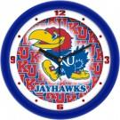 "Kansas Jayhawks 12"" Dimension Wall Clock"
