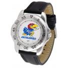Kansas Jayhawks Gameday Sport Men's Watch by Suntime
