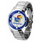 Kansas Jayhawks Titan Steel Watch