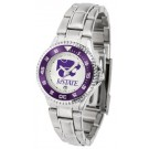 Kansas State Wildcats Competitor Ladies Watch with Steel Band