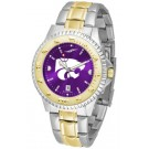 Kansas State Wildcats Competitor AnoChrome Two Tone Watch