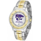 Kansas State Wildcats Competitor Two Tone Watch