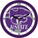 "Kansas State Wildcats 12"" Dimension Wall Clock"