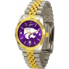 Kansas State Wildcats Executive AnoChrome Men's Watch by