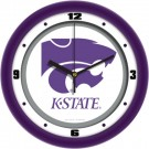 "Kansas State Wildcats Traditional 12"" Wall Clock"