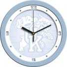 """Kentucky Wildcats 12"""" Blue Wall Clock"""