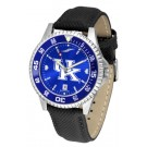 Kentucky Wildcats Competitor AnoChrome Men's Watch with Nylon/Leather Band and Colored Bezel