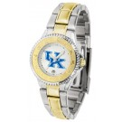 Kentucky Wildcats Competitor Ladies Watch with Two-Tone Band