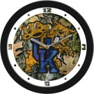 "Kentucky Wildcats 12"" Camo Wall Clock"