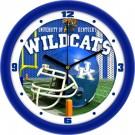 """Kentucky Wildcats 12"""" Helmet Wall Clock"""