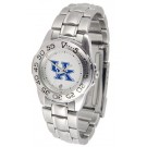 Kentucky Wildcats Gameday Sport Ladies' Watch with a Metal Band