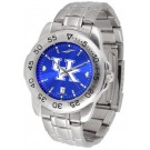 Kentucky Wildcats Sport Steel Band Ano-Chrome Men's Watch