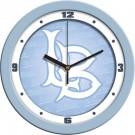 """California State (Long Beach) Dirtbags 12"""" Blue Wall Clock"""