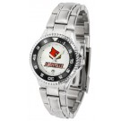 Louisville Cardinals Competitor Ladies Watch with Steel Band
