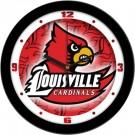 "Louisville Cardinals 12"" Dimension Wall Clock"