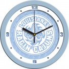 "Louisiana (Lafayette) Ragin' Cajuns 12"" Blue Wall Clock"