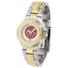 Louisiana (Lafayette) Ragin' Cajuns Competitor Ladies Watch with Two-Tone Band
