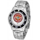 Louisiana (Lafayette) Ragin' Cajuns Competitor Men's Watch with Steel Band