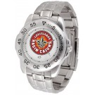 Louisiana (Lafayette) Ragin' Cajuns Sport Steel Band Men's Watch