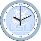 "Louisiana State (LSU) Tigers 12"" Blue Wall Clock"