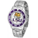 Louisiana State (LSU) Tigers Competitor Watch with a Metal Band