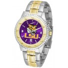 Louisiana State (LSU) Tigers Competitor AnoChrome Two Tone Watch