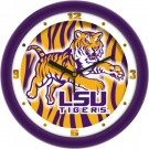 "Louisiana State (LSU) Tigers 12"" Dimension Wall Clock"