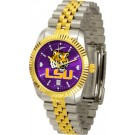 Louisiana State (LSU) Tigers Executive AnoChrome Men's Watch by