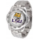Louisiana State (LSU) Tigers Sport Steel Band Men's Watch