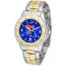 Louisiana Tech Bulldogs Competitor AnoChrome Two Tone Watch