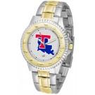 Louisiana Tech Bulldogs Competitor Two Tone Watch