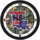 "Louisiana Tech Bulldogs 12"" Camo Wall Clock"