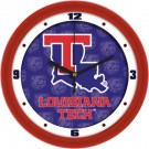 "Louisiana Tech Bulldogs 12"" Dimension Wall Clock"