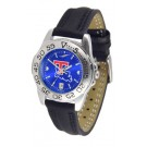 Louisiana Tech Bulldogs Sport AnoChrome Ladies Watch with Leather Band