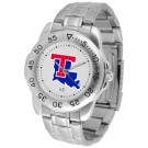 Louisiana Tech Bulldogs Sport Steel Band Men's Watch