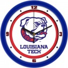 "Louisiana Tech Bulldogs Traditional 12"" Wall Clock"